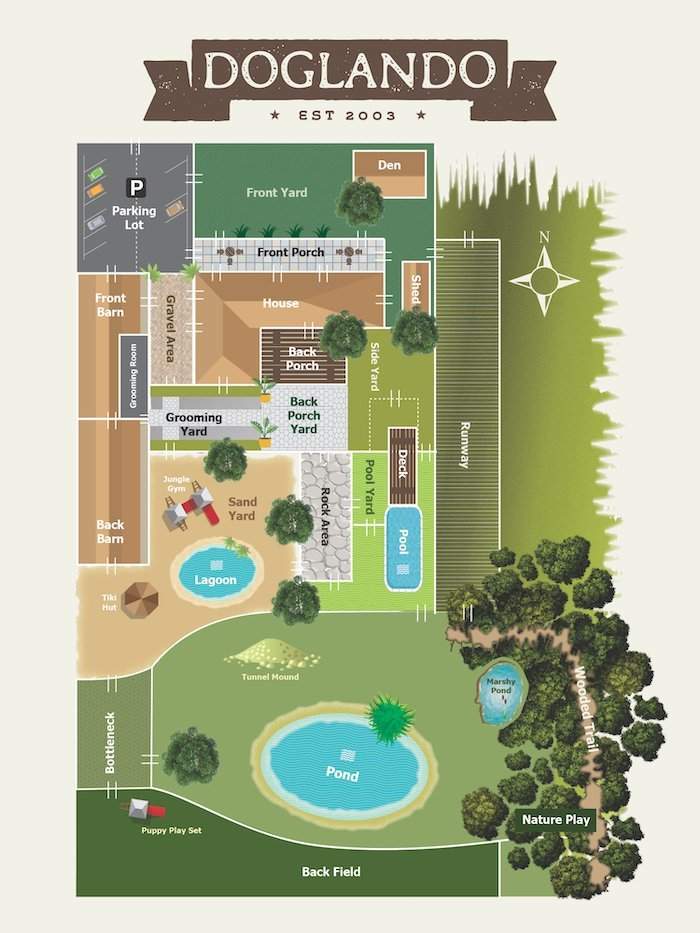 doglando campus map
